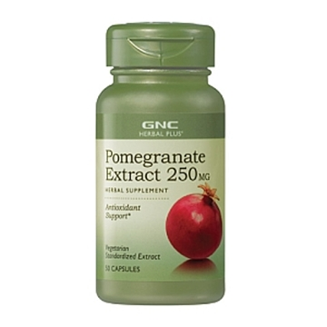 Снимка на GNC Herbal Plus Pomegranate 250 mg / Нар 250 мг
