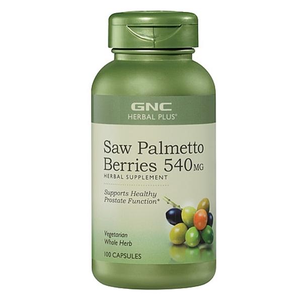 Picture of GNC Herbal Plus Saw Palmetto Berries 540 mg/  Сао Палмето плод 540 мг - Истинският мъж се грижа за своето здраве