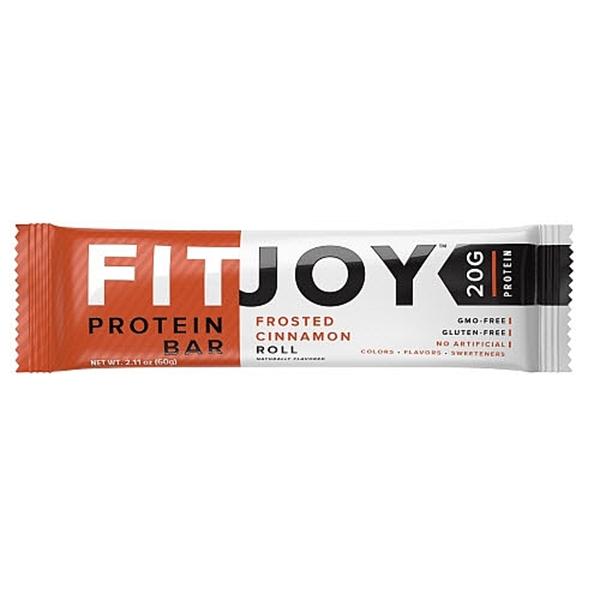 Picture of FitJoy Proten Bar Frosted Cinnamon Roll/ Протеинов бар Фитджой- Лесен и вкусен начин да си набавим необходимото количество протеин