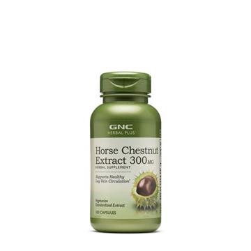 Снимка на GNC Herbal Plus Horse Chestnut/Див Кестен 300 mg - За здрави вени и при тежест в краката