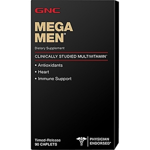 Picture of GNC Mega Men / Мега Мен - Ефикасни витамини, създадени специално за мъже