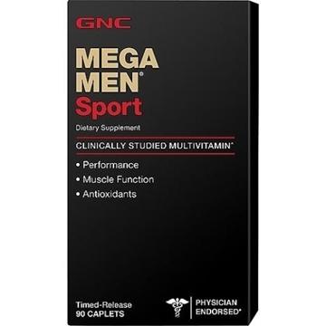 Снимка на GNC Mega Men Sport / Мега Мен Спорт - Мощни витамини, създадени специално за мъже, занимаващи се със спорт