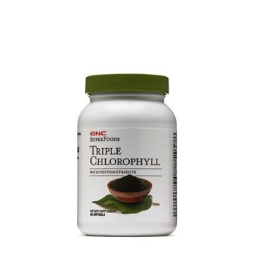 Снимка на GNC Superfoods Triple Chlorophyll/ Троен Хлорофил-  Растителният пигмент в подкрепа на здравето