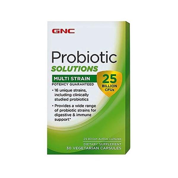 Picture of GNC Probiotic Solutions Multi Strain - 25 Billion Cfu`S/ Пробиотик Сълюшънс Мулти Стрейн  25 Млрд. Бактери -  16 щама пробиотични култири в една капсула