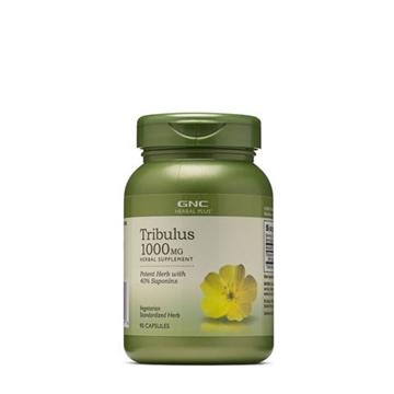 Снимка на GNC Herbal Plus Tribulus 1000 mg/ Трибулус 1000 mg - Билка за мъжка сила