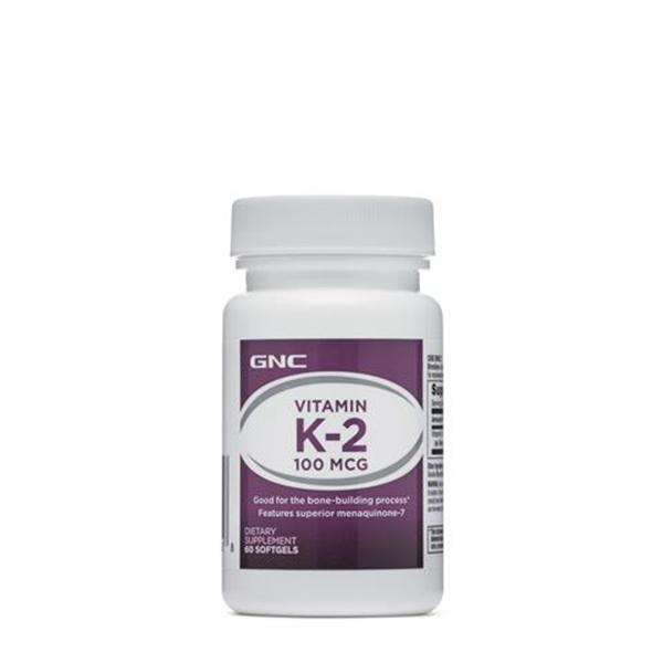 Picture of GNC Vitamin K2 100 µg/ Витамин К2 100 мкг - За здрави кости и зъби