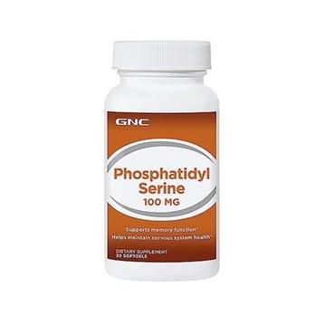 Снимка на GNC Phosphatidyl Serine 100 mg/ Фосфатидил серин 100 мг - Природно антистресово средство