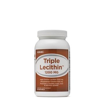 Снимка на GNC Triple Lecithin 1200 mg/ Лецитин троен 1200 мг