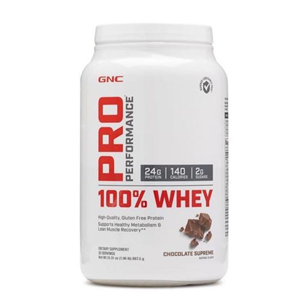 Picture of GNC Pro Performance 100% Whey – Chocolate suprеme/ Про Пърформанс 100% Уей - Вкусен и лесно разтворим суроватъчен протеин