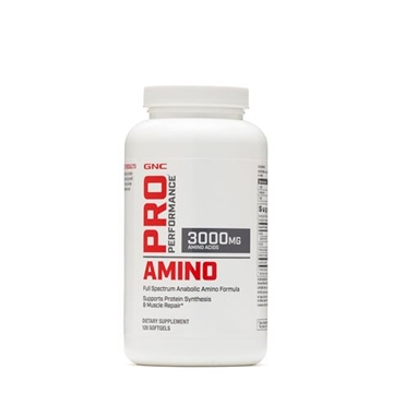 Снимка на GNC Pro Performance Amino  3000 mg/ Амино 3000 мг - Пълен спектър аминокиселини