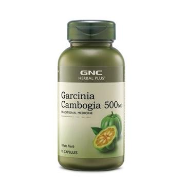 Снимка на GNC Herbal Plus ® Garcinia Cambogia 500 mg/ Гарциния Камбоджия 500 мг - При повишен апетит