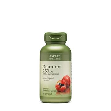 Снимка на GNC Herbal Plus ® Guarana 250 mg/ Гуарана 250 мг- За бодрост и повече енергия