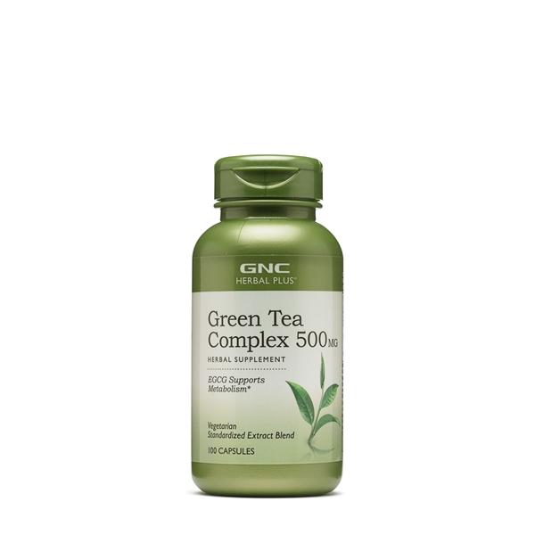 Picture of GNC Herbal Plus ® Green Tea Complex 500 mg/ Зелен чай комплекс - Полезно оздравително средство, познато от хилядолетия