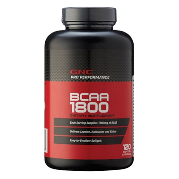 Picture of GNC Pro Perfomance BCAA 1800 / Аминокиселини 1800 мг
