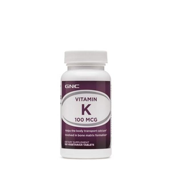 Picture of GNC Vitamin K 100 µg / Витамин К мкг - Важен занормалното съсирване на кръвта