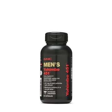 Снимка на GNC Men`s Yohimbe 451 mg / Йохимбе 451 мг - Билка за мъжкото здраве