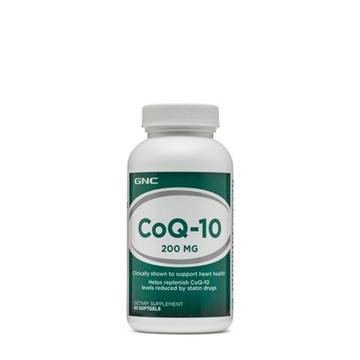 Снимка на GNC CoQ–10 200 mg /  Коензим Q - 10 200 мг - За здравето на Вашето сърце