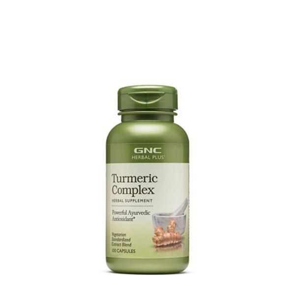 Picture of GNC Herbal Plus Turmeric Complex / Куркума( Турмерик) Комплекс -Мощен антиоксидант от аюрведа