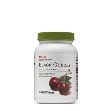 Снимка на GNC SuperFoods Black Cherry / Черна череша - Благотворно действие върху организма