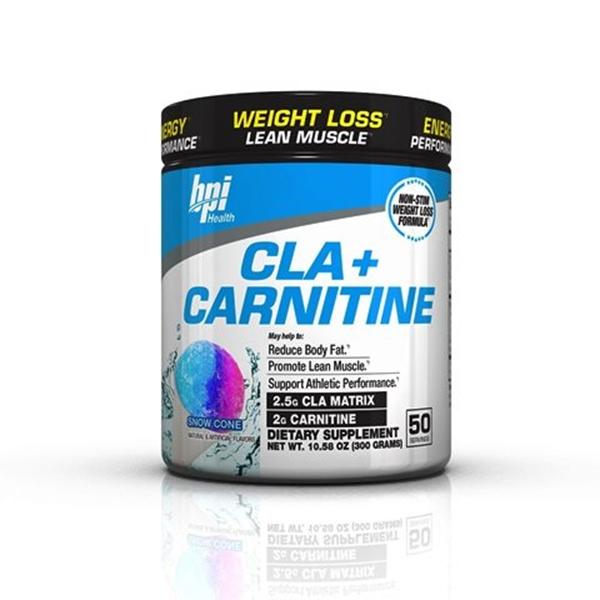 Picture of BPI Sports Cla+ Carnitine - Snow Cone/ КЛА+ Карнитин- Мощна формула изгаряща мазнините