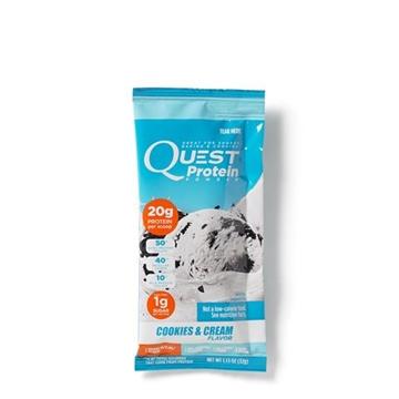 Снимка на Quest Protein Powder -  Cookies&Cream/ Куест паудър - Вкусен протеинов прах в единични дози