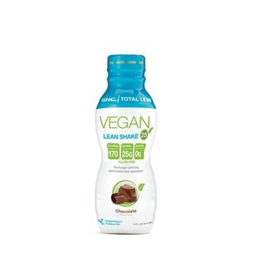 Снимка на GNC Total Lean® Vegan Lean Shake™ 25- Chocolate /Тотал Лийн Веган Шейк 25 -  Протеинов шейк от растителен източник