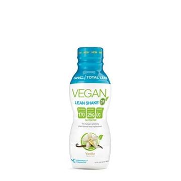 Снимка на GNC Total Lean® Vegan Lean Shake™ 25- Vanilla /Тотал Лийн Веган Шейк 25 -  Протеинов шейк от растителен източник