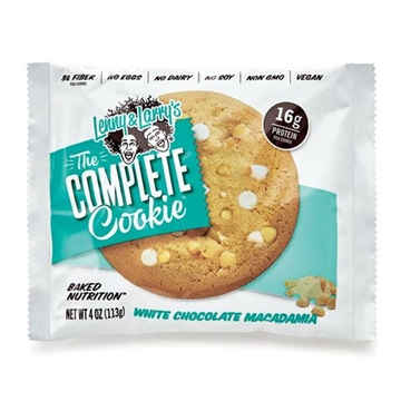 Снимка на Lenny & Larry's® The Complete Cookie®  - White Chocolate Macadamia / Протеинов бар комплийт куки - Вкусна и питателна протеинова бисквитка