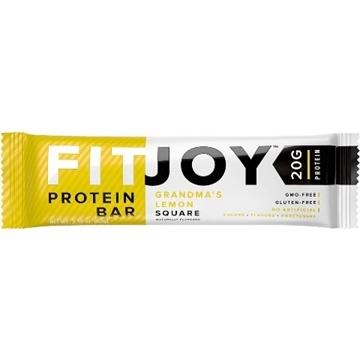 Снимка на FitJoy Protein bar Grandma`s lemon / Протеинов бар Фитджой- Лесен и вкусен начин да си набавим необходимото количество протеин