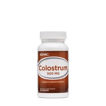 Снимка на GNC Colostrum 500 mg/ Коластра 500 мг - Подкрепа на имунната защита на организма