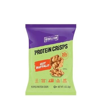 Снимка на Our Little Rebellion Protein Crisps- Hot Buffalo/ Протеинов чипс - Хрупкав и вкусен чипс