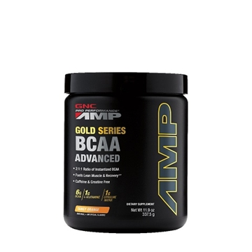 Снимка на GNC Pro Performance AMP Gold Series BCAA Advanced – Tangy orange/ Аминокиселини PP AMP Голд Сирис  ВCAA - Аминокиселинен комплекс от ВСАА