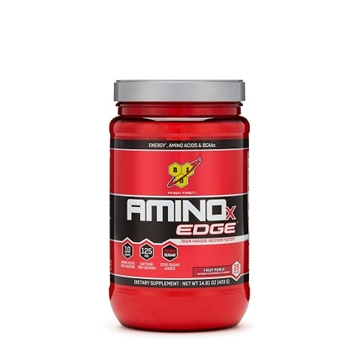 Снимка на BSN Aminox Edge -  Fruit Punch / Биесен Амино X™ Едж - Аминокиселинен комплекс спомагащ бързото възстановяване, обогатен с кофеин