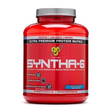 Снимка на BSN SYNTHA-6 - Vanilla Ice Cream/ БиЕсЕн Синта- 6 - Протеинова матрица за мускулен растеж и възстановяване
