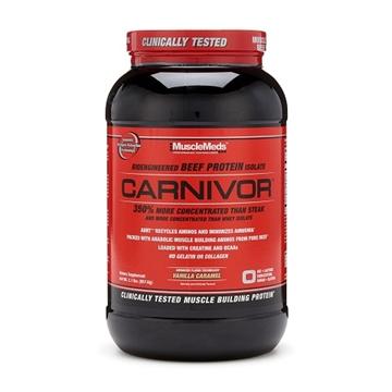 Снимка на MuscleMeds Carnivor - Vanilla Caramel / Мъсълмедс Карнивор - Телешки протеин за изграждане на мускулна маса