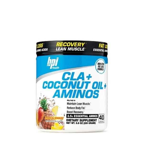 Picture of BPI Sports Cla+ Coconut oil + Aminos – Tropical Breeze/ БиПиАй КЛА+ Кокосово масло + Аминокиселини - Идеалното решение за отслабване, без съдържание на кофеин