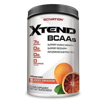 Снимка на Scivation Xtend BCAA`s- Blood Orange/ Сайвейшън Екстенд BCAA - Комплекс от разклонено- верижни аминокиселини BCAA