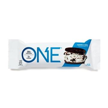Снимка на One Protein Bar - Cookie & Cream / Протеинов бар - Удобен начин да си набавите протеин