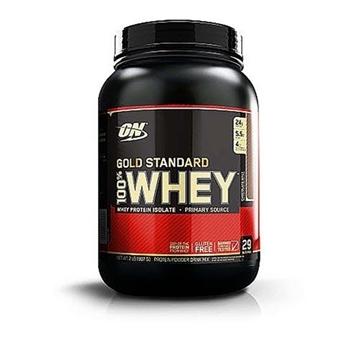 Снимка на Optimum Nutrition 100% Whey Gold Standard - Chocolate Malt/ Оптимум Нутришън Голд Стандарт 100 % Уей Протеин - Чист суроватъчен протеин с минимално съдържание на мазнини и въглехидрати
