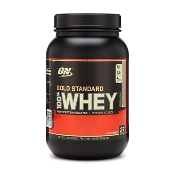Снимка на Optimum Nutrition 100% Whey Gold Standard - Cookies & Cream/ Оптимум Нутришън Голд Стандарт 100 % Уей Протеин - Чист суроватъчен протеин с минимално съдържание на мазнини и въглехидрати