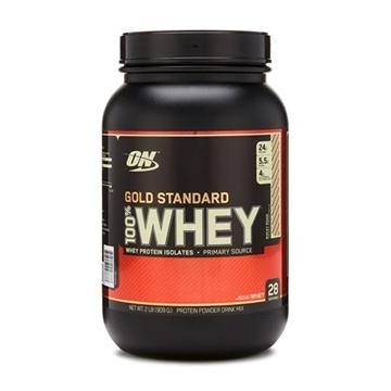 Снимка на Optimum Nutrition 100% Whey Gold Standard - Rocky Road/ Оптимум Нутришън Голд Стандарт 100 % Уей Протеин - Чист суроватъчен протеин с минимално съдържание на мазнини и въглехидрати