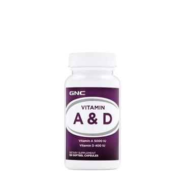 Снимка на GNC Vitamin А & D/ Витамин А & D- За здрави очи и силна имунна система