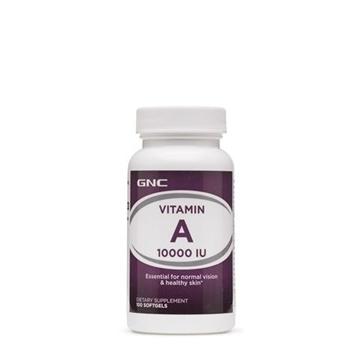 Снимка на GNC Vitamin А 10 000 IU / Витамин А 10 000 IU - За добро зрение и сияйна кожа
