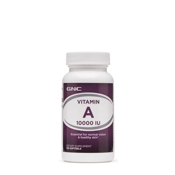 Picture of GNC Vitamin А 10 000 IU / Витамин А 10 000 IU - За добро зрение и сияйна кожа