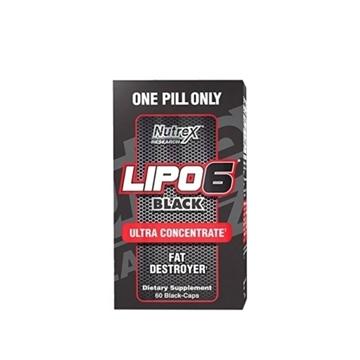 Снимка на Nutrex Lipo 6 Black  Ultra Concentrate /  Липо 6 Концентрат- Унищожител на мазнините