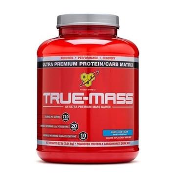 Снимка на BSN True-Mass- Vanilla ice cream / БиЕсЕн Тру Мас - Протеинов гейнър за повече мускулна маса и тегло