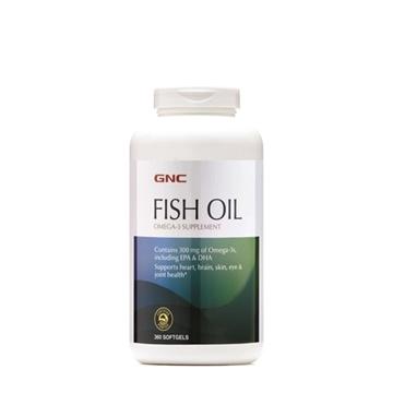 Снимка на GNC Fish Oil/ Рибено масло-Здраве от морето в подкрепа на очите, мозъка и сърцето