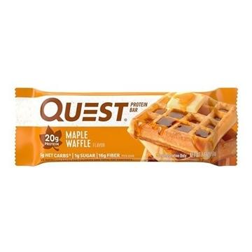 Снимка на Quest Bar  Protein Bar – Maple Waffle/ Куест протеинов бар - Доставя необходимото количество протеин