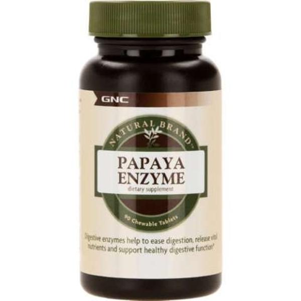 Picture of GNC Natural Brand Papaya Enzyme/ Папая ензими- Ензимът папаин за подобряване на храносмилането