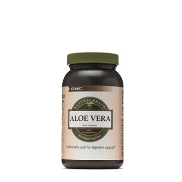 Снимка на GNC Natural Brand  Aloe Vеra- Алое Вера капс- Чудо от природата за добро здраве